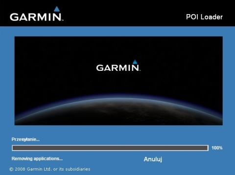 Garmin Poi loader